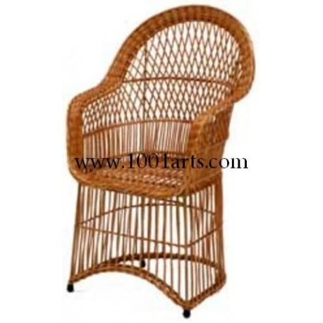 Cadeira Meia-Lua Ripada